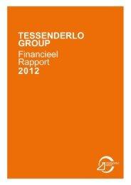 Geconsolideerde financiële staten - Tessenderlo Group