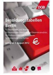 Berlin ab August 2012 - Das RentenPlus