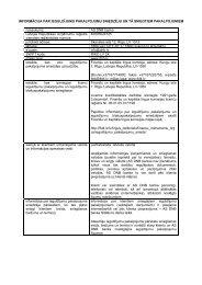 Informācija par finanšu instrumentu turēšanu un noguldījumu ... - DNB