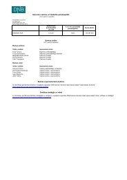Finanšu pārskats par 2012. gada 3. ceturksni - DNB