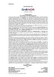 Base Prospectus - Malta Financial Services Authority