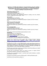 Apdrošināšanas starpniecība - DNB