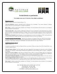 Forfait histoire et patrimoine - Tourisme aux Îles de la Madeleine