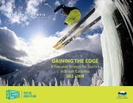Gaining The Edge - Ministry of Jobs, Tourism and Skills Training