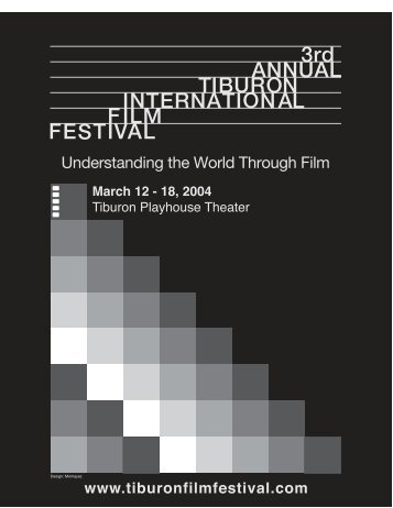 2004 Program - Tiburon International Film Festival