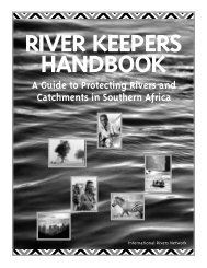 Download the full report. - International Rivers