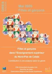 Filles et Garçons dans l'Enseignement Supérieur du Nord