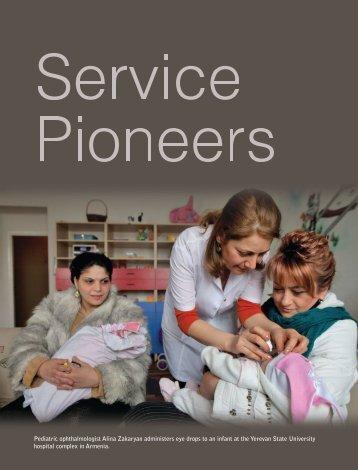 Service Pioneers - Katya Cengel