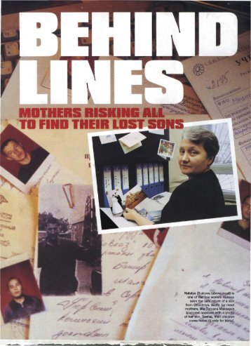 Behind Enemy Lines - Katya Cengel