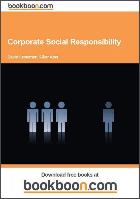 Defining Corporate Social Responsibility - Tutorsindia