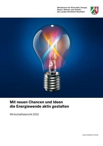 Wirtschaftsbericht 2012 - Landesregierung Nordrhein-Westfalen