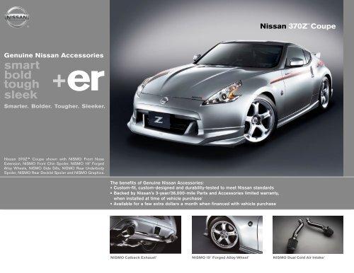 Nissan 370Z Coupe   Accessories Brochure