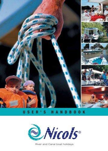 user's handbook - Nicols Canal boat