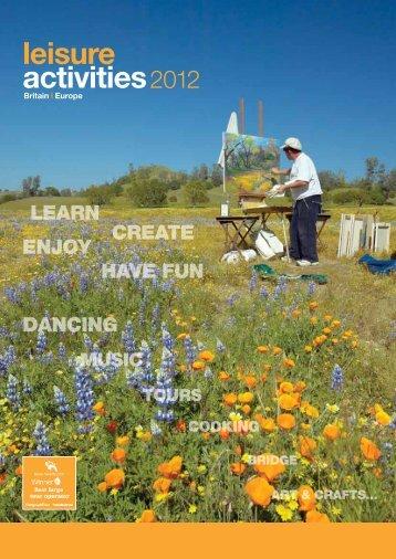 Leisure Activities 2012 - Eurolynx Travel