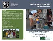 Monteverde, Costa Rica - University of South Florida