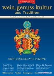 EuroVino Wein & Genuss Weinritterschaft - Weinritter-ooe