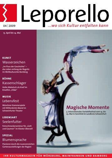 Magische Momente - Leporello