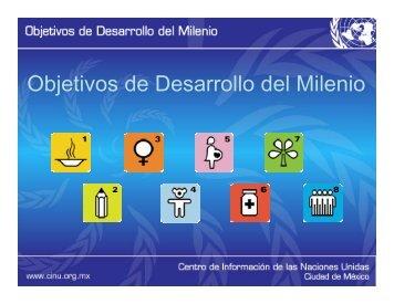 Objetivos de Desarrollo del Milenio j - CINU