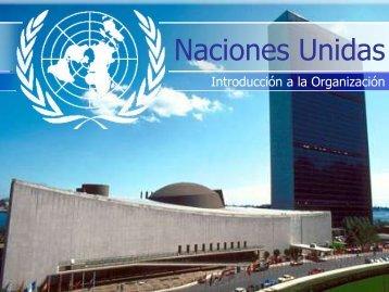 Información básica acerca de Naciones Unidas - CINU