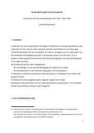 ontmoetingen van de planeten 19941995.pdf - Stichting Een Klaar ...