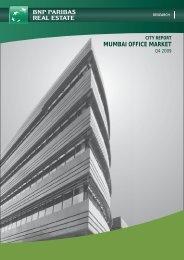 city report mumbai office market - BNP PARIBAS - Investment ...
