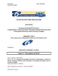 "Annex I - ""Description of Work"" - Eusustel.be"