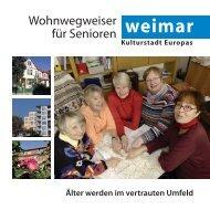 Wohnwegweiser für Senioren (PDF) - Weimar