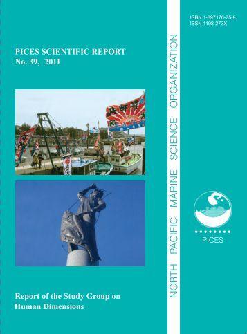 PICES SCIENTIFIC REPORT No. 39, 2011