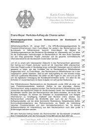 Pressemitteilung vom 25.1.07 zum Besuch beim Rechenzentrum ...