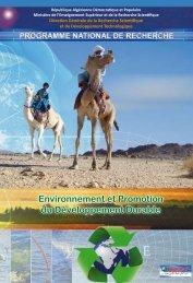 Environnement et Promotion du Développement Durable - ENSH