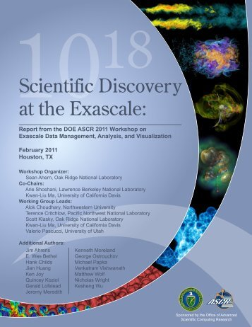 Scientific Discovery at the Exascale: - Office of Science