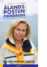 THE SEA INSPIRES ANETTE - Posten Åland