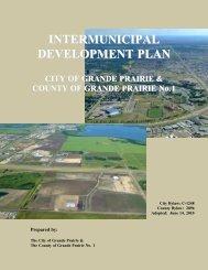 Intermunicipal Development Plan (IDP) - County of Grande Prairie
