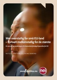 Skriftserien 2-2003.pdf - Nei til EU