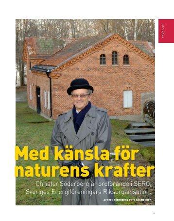 Läs artikeln här - Sveriges Energiföreningars Riksorganisation