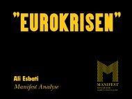 Eurokrisen - Nei til EU