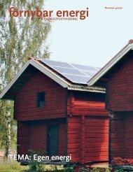 förnybar energi - Sero