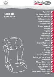 KIDFIX - Britax Römer