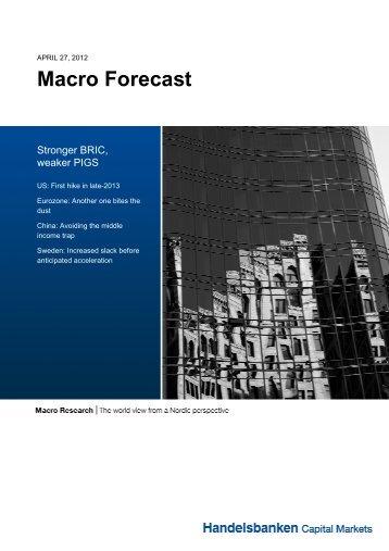 Macro Forecast - Macro Research - Handelsbanken