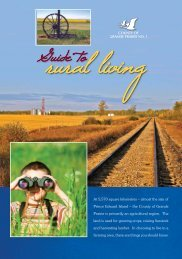 Guide To Rural Living - County of Grande Prairie