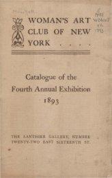 Annual exhibition. - New York Art Resources Consortium