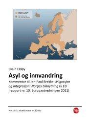 Arbeidsnotat 5-2011 - Nei til EU