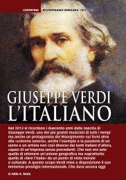 Giuseppe Verdi - Storia In Rete