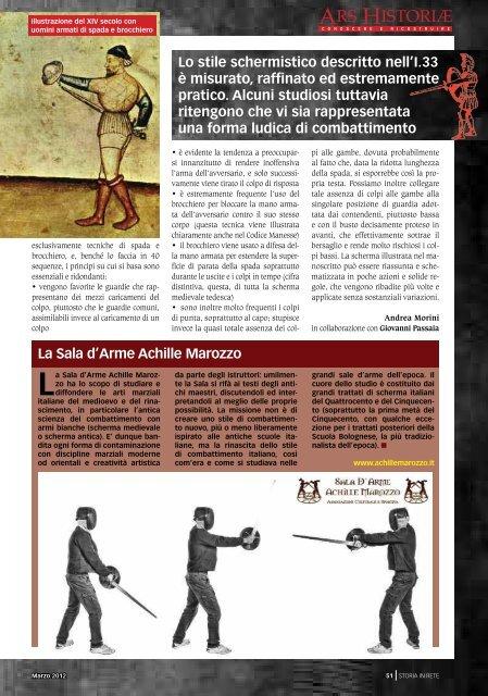 Il manoscritto I.33, manuale medievale di spada e ... - Storia In Rete