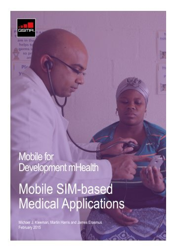 GSMA-M4D-mHealth-Mobile-SIM-based-Medical-Applications