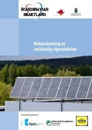 Nätanslutning av småskalig elproduktion - Sero