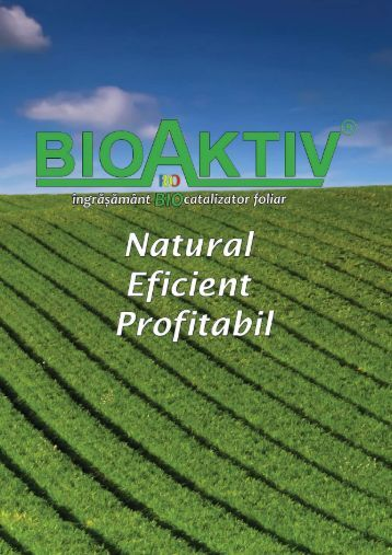 Catalog BioAktiv
