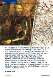 Pierluigi Farnese, l'uomo che voleva costruire lo ... - Storia In Rete