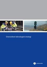 Overordnet teknologisk strategi - Jernbaneverket