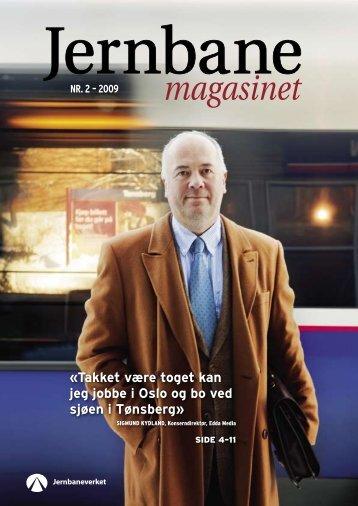 «Takket være toget kan jeg jobbe i Oslo og bo ved ... - Jernbaneverket